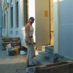 @work in Potsdam ,Barockfassade Holländerviertel
