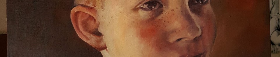 Portrait Öl-Gemälde 40x60 cm