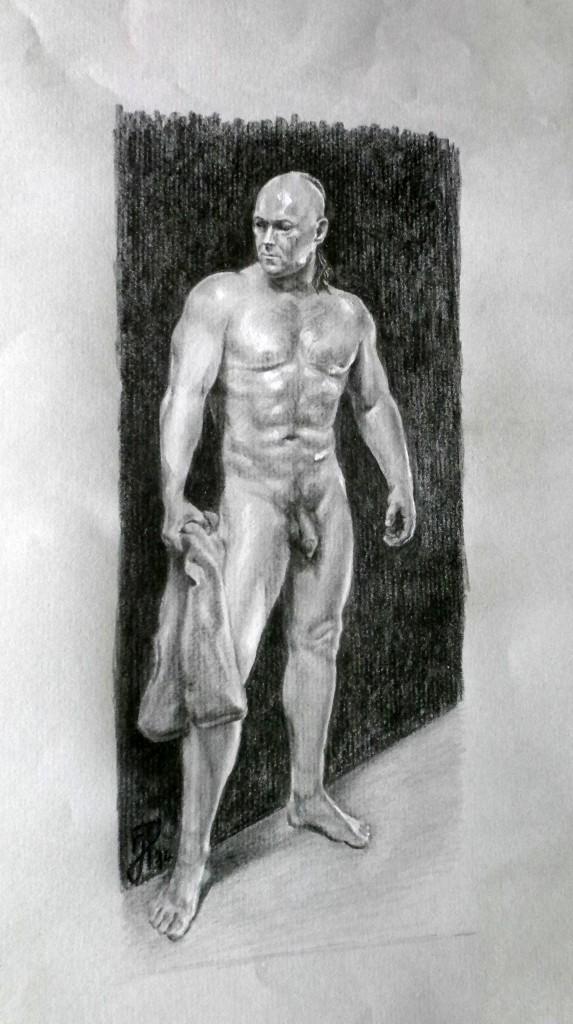 Selbstportrait als Akt